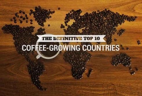 دنبال نام جغرافیایی تولید کننده قهوه باشید