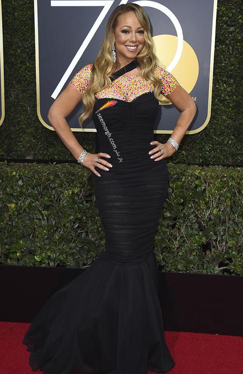 مدل لباس ماریا کری Mariah Carey در مراسم گلدن گلوب 2018