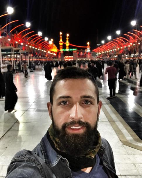 محسن افشانی در بین الحرمین!