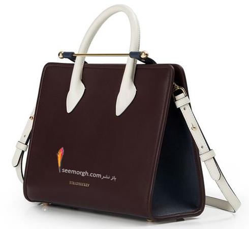 کیف بند دار مگان مارکر Megan Marker در اولین دیدار مردمی از برند Strathberry