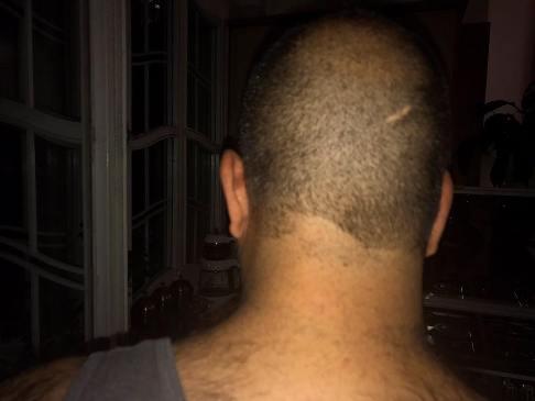 مدل موی جدید علی اوجی به لطف نرگس محمدی!