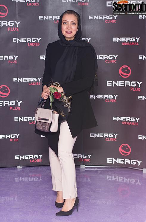 نگار عابدی در افتتاحیه باشگاه انرژی