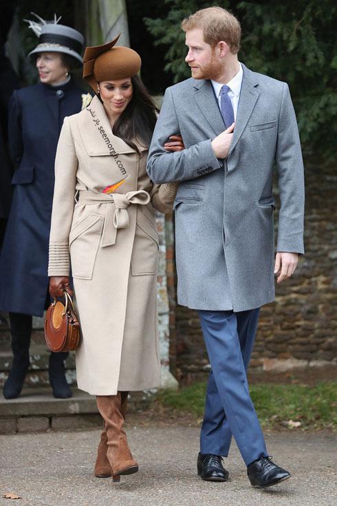 عکس پرنس هری و مگان مارکل Megan Markle در روز کریسمس - عکس شماره 1