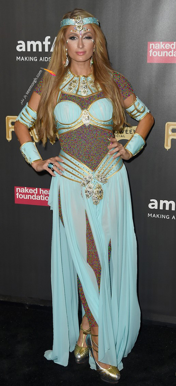مدل لباس پاریس هیلتون Paris Hilton در هالووین 2017