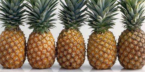 ویتامین c در آناناس