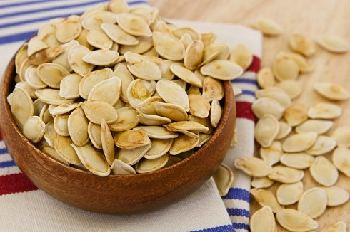 منبع منیزیم: دانه کدو تنبل
