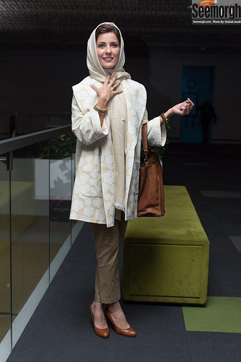 مدل مانتو سارا بهرامی در پاییز 1396