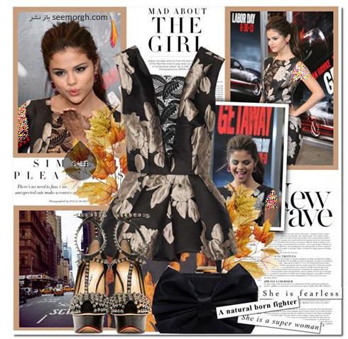 ست کردن لباس شب به سبک سلنا گومز Selena Gomez - عکس شماره 9