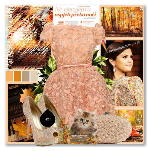 ست کردن لباس شب به سبک سلنا گومز Selena Gomez - عکس شماره 11