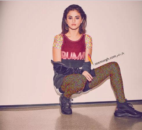 سلنا گومز Selena Gomez چهره تبلیغاتی برند پوما Puma - عکس شماره 3
