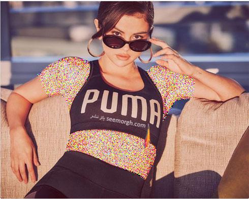 سلنا گومز Selena Gomez چهره تبلیغاتی برند پوما Puma - عکس شماره 4