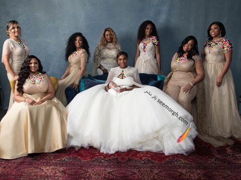 لباس عروس سرنا ویلیامز Serena Williams از طراحی های سارا بورتون Sarah Burton - عکس شماره 5
