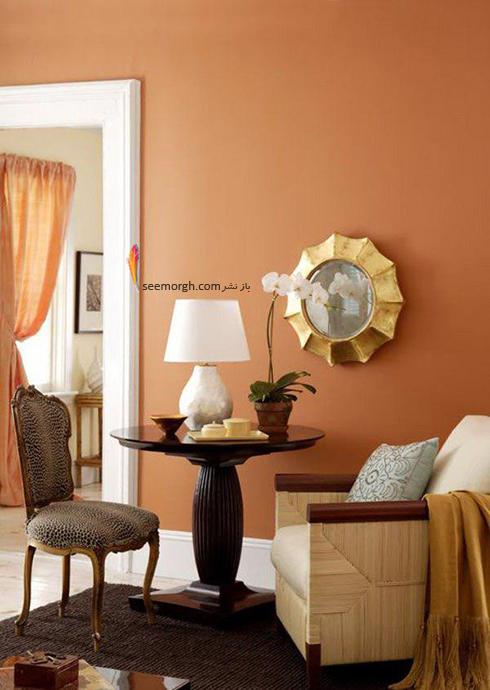 ست کردن کاغذ دیواری گلبهی با مبل و فرش مناسب - عکس شماره 14
