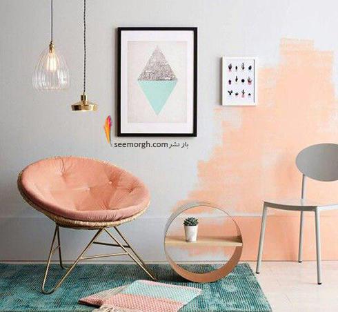 ست کردن کاغذ دیواری گلبهی با مبل و فرش مناسب - عکس شماره 13
