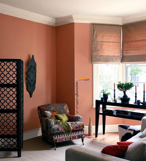 ست کردن کاغذ دیواری گلبهی با مبل و فرش مناسب - عکس شماره 12