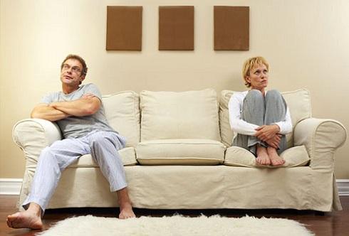مشکل داشتن با شریک زندگیتان میل جنسی شما را از بین می برد