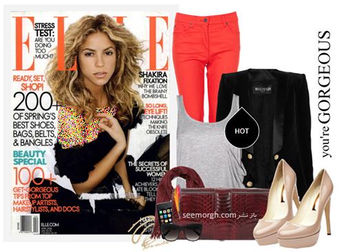 ست کردن شلوار جین برای پاییز 2017 به سبک شکیرا Shakira - عکس شماره 3