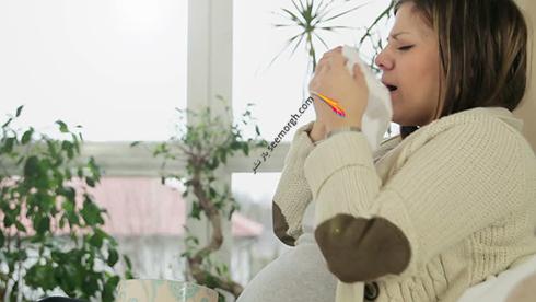 آیا عطسه کردن در دوران بارداری خطرناک است؟