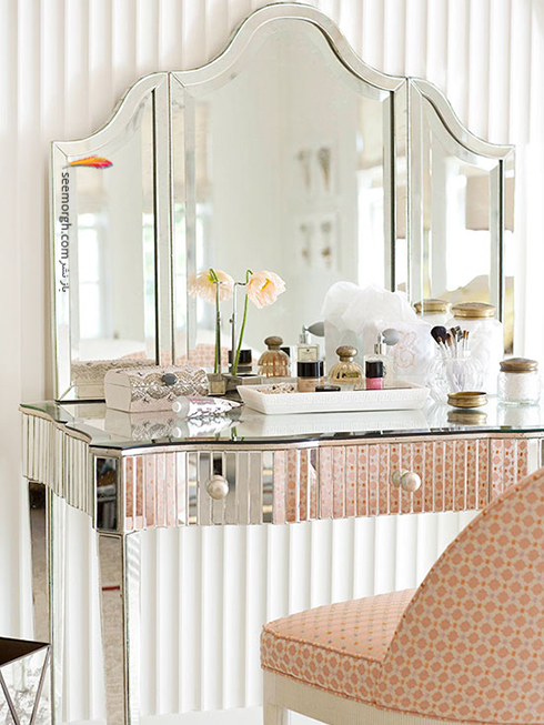 آینه های بزرگ فضای اتاق خواب کوچک تان را دوبرابر می کند