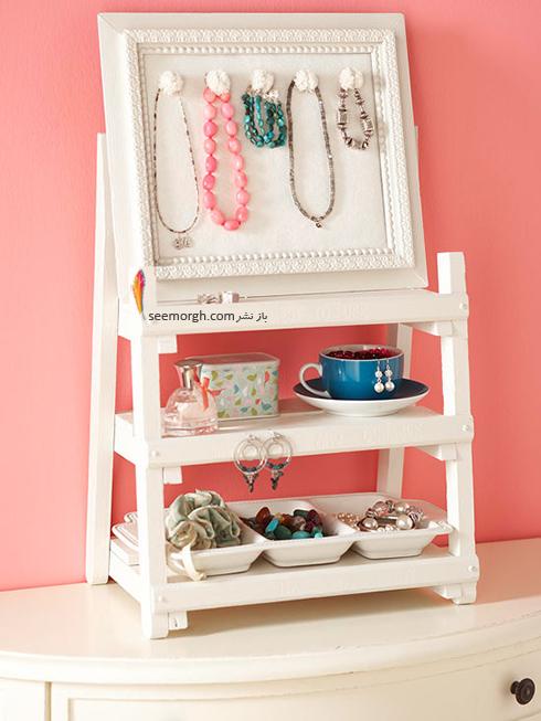 نردبان های کوچک و قاب عکس های خالی درون اتاق خواب تان معجزه می کنند