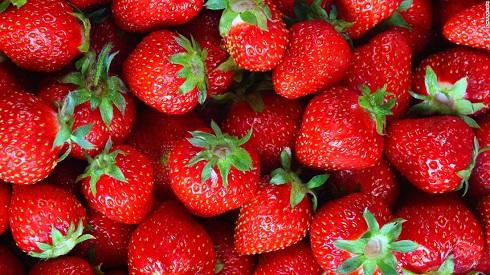 ویتامین c در توت فرنگی