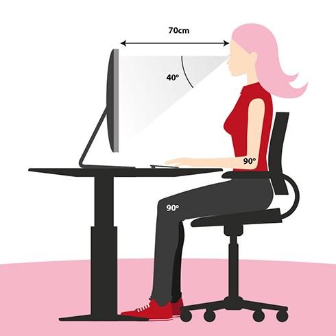 درازکش درس خواندن خطرناک است + روش صحيح نشستن پشت ميز