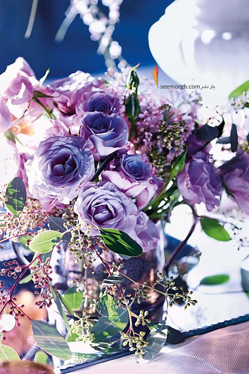 گل های مراسم عروسی تان را به رنگ سال انتخاب کنید