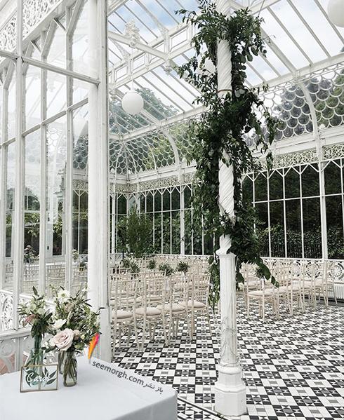 برگزاری مراسم عروسی در سالن هایی با سقف شفاف