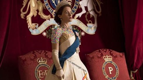 سریال تاج رویدادهای اوایل دوران سلطنت ملکه الیزابت دوم را به نمایش درآورده است