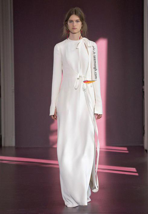 مدل بارانی زنانه والنتینو Valentino برای پاییز 2017 - مدل شماره 3