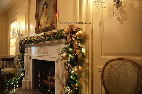 دکوراسيون کريسمسي کاخ سفيد به پيشنهاد ملانيا ترامپ - عکس شماره 14