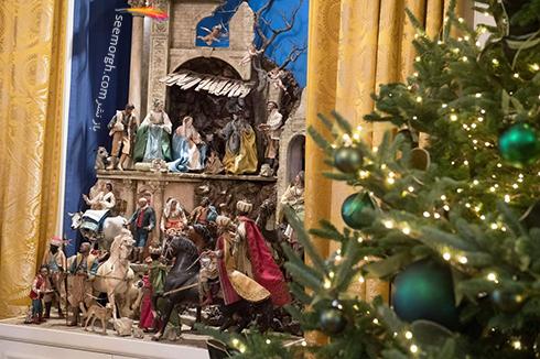 دکوراسيون کريسمسي کاخ سفيد به پيشنهاد ملانيا ترامپ - عکس شماره 11
