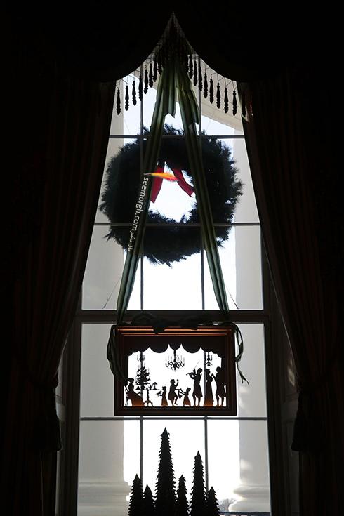 دکوراسيون کريسمسي کاخ سفيد به پيشنهاد ملانيا ترامپ - عکس شماره 8