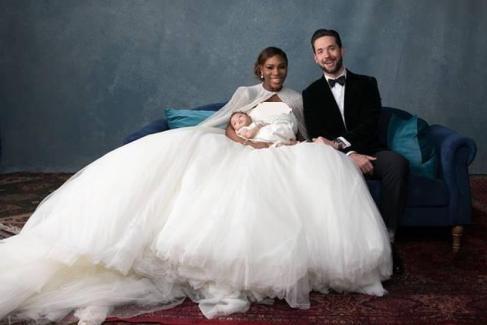 مراسم ازدواج سرنا ویلیامز