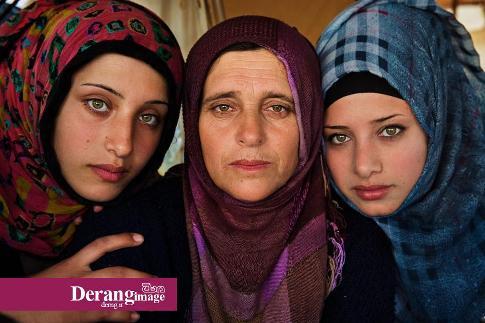 زنان جنگ زده سوریه