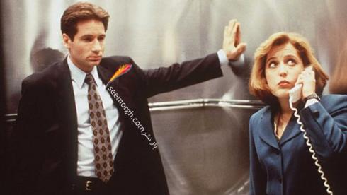 """جيلين اندرسون و ديويد دوکاوني، بازيگران """"پروندههاي ايکس"""""""