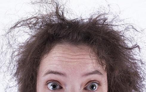 1. موهای شما خشک نمی شود