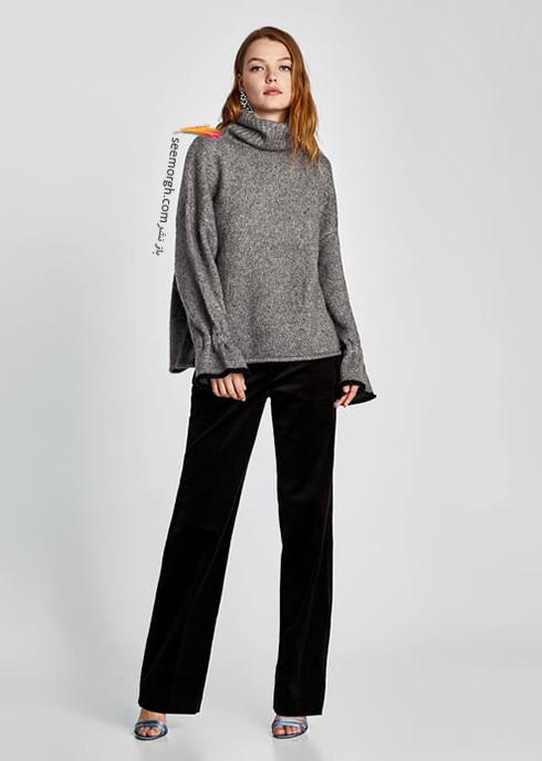 پليور زنانه زارا Zara براي زمستان 2017 - عکس شماره 9