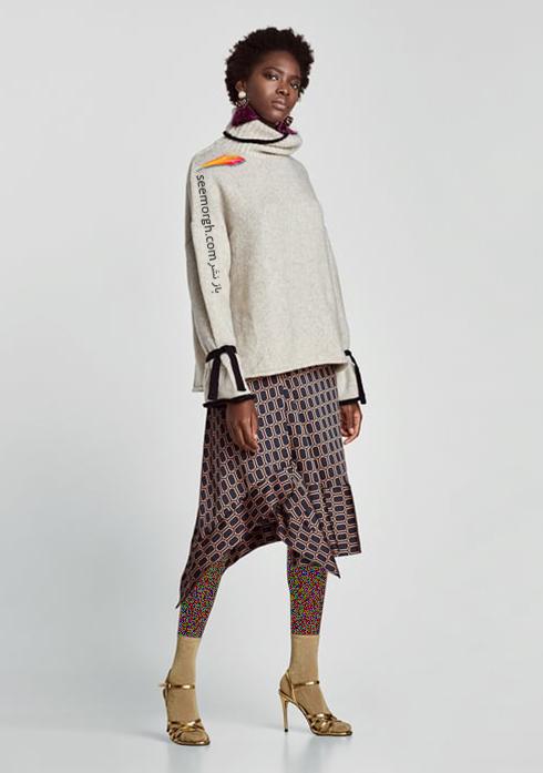 پليور زنانه زارا Zara براي زمستان 2017 - عکس شماره 1