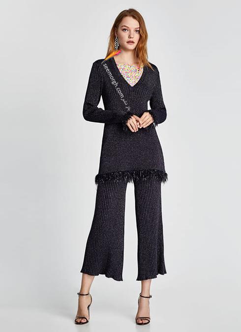 پليور زنانه زارا Zara براي زمستان 2017 - عکس شماره 8