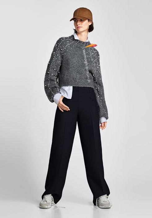 پليور زنانه زارا Zara براي زمستان 2017 - عکس شماره 7