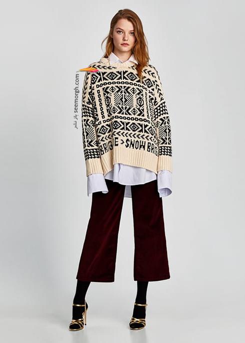 پليور زنانه زارا Zara براي زمستان 2017 - عکس شماره 6