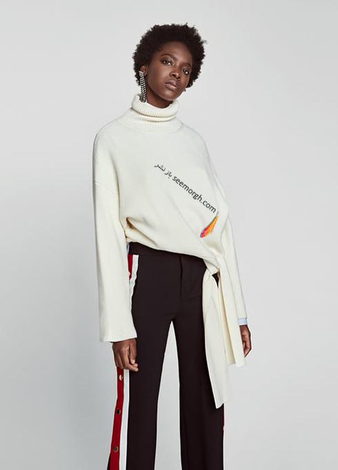 پليور زنانه زارا Zara براي زمستان 2017 - عکس شماره 5