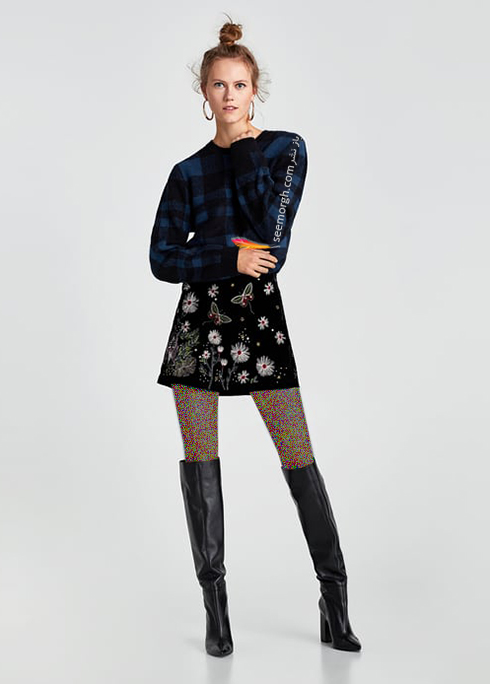 پليور زنانه زارا Zara براي زمستان 2017 - عکس شماره 2