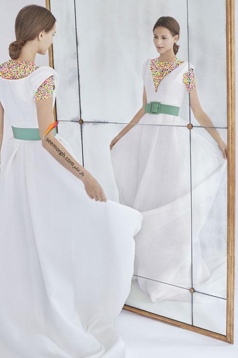لباس عروس 2018 از کلکسیون زمستانی کارولینا هررا Carolins Herrera - مدل لباس عروس شماره 8