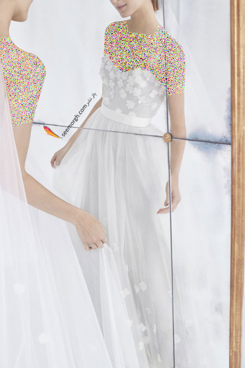 لباس عروس 2018 از کلکسیون زمستانی کارولینا هررا Carolins Herrera - مدل لباس عروس شماره 7
