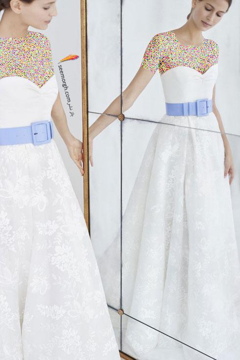 لباس عروس 2018 از کلکسیون زمستانی کارولینا هررا Carolins Herrera - مدل لباس عروس شماره 6