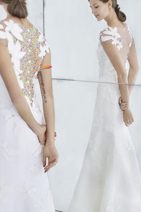 لباس عروس 2018 از کلکسیون زمستانی کارولینا هررا Carolins Herrera - مدل لباس عروس شماره 5