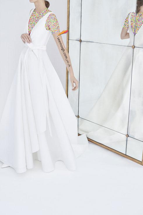 لباس عروس 2018 از کلکسیون زمستانی کارولینا هررا Carolins Herrera - مدل لباس عروس شماره 4