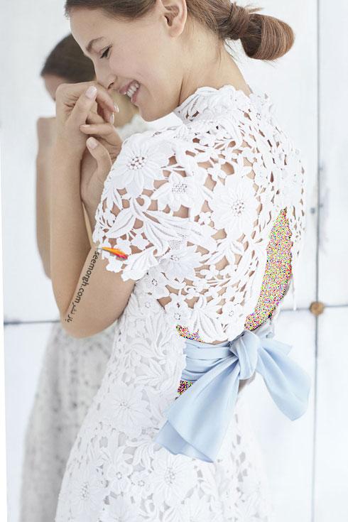 لباس عروس 2018 از کلکسیون زمستانی کارولینا هررا Carolins Herrera - مدل لباس عروس شماره 3